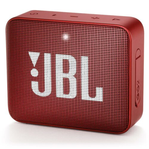 Portable Speaker JBL GO 2 Portable/Waterproof/Wireless 1xMicro-USB 1xStereo jack 3.5mm Bluetooth Red JBLGO2RED