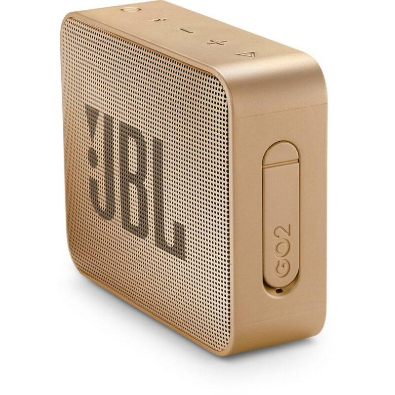 Portable Speaker|JBL|GO 2|Portable/Waterproof/Wireless|1xMicro-USB|1xStereo jack 3.5mm|Bluetooth|Champagne|JBLGO2CHAMPAGNE