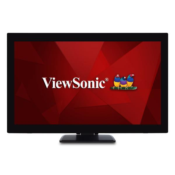 LCD Monitor VIEWSONIC TD2760 27″ Business/Touch Touchscreen Panel MVA 1920×1080 16:9 60Hz 6 ms Speakers Height adjustable Tilt TD2760