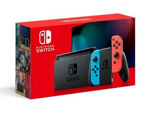 Private: CONSOLE SWITCH/RED/BLUE 10002207 NINTENDO