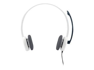 HEADSET STEREO H150/WHITE 981-000350 LOGITECH