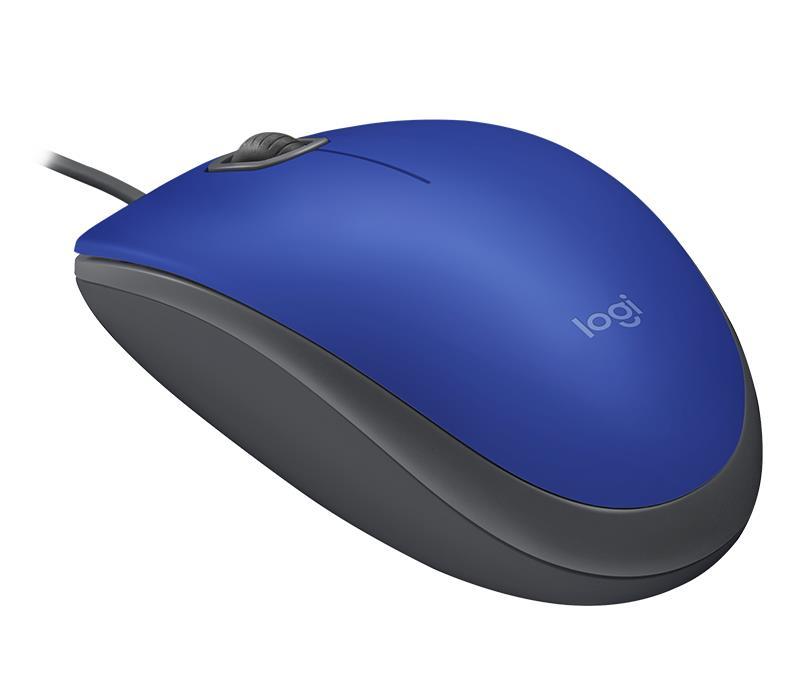 MOUSE USB OPTICAL M110 SILENT/BLUE 910-005488 LOGITECH