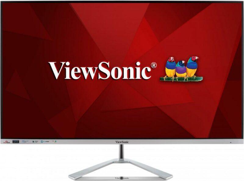 LCD Monitor VIEWSONIC VX3276-2K-MHD-2 32″ Business Panel IPS 2560×1440 16:9 75Hz Matte Speakers Tilt Colour Silver VX3276-2K-MHD-2