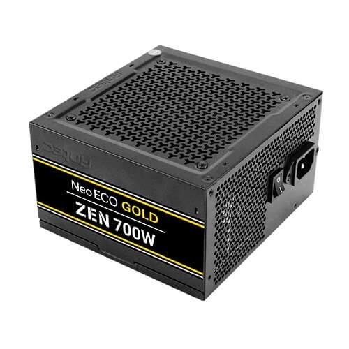 Power Supply ANTEC 700 Watts Efficiency 80 PLUS GOLD PFC Active 0-761345-11688-6
