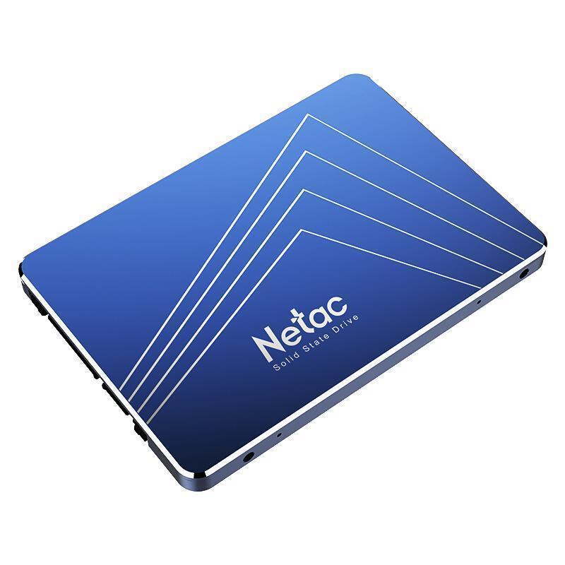 SSD|NETAC|480GB|SATA 3.0|TLC|Write speed 520 MBytes/sec|Read speed 560 MBytes/sec|2,5″|MTBF 1500000 hours|NT01N535S-480G-S3X