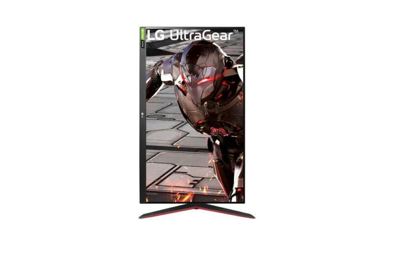 LCD Monitor|LG|32GN550-B|32″|Gaming|Panel VA|1920×1080|16:9|165Hz|Matte|5 ms|Pivot|Height adjustable|Tilt|32GN550-B