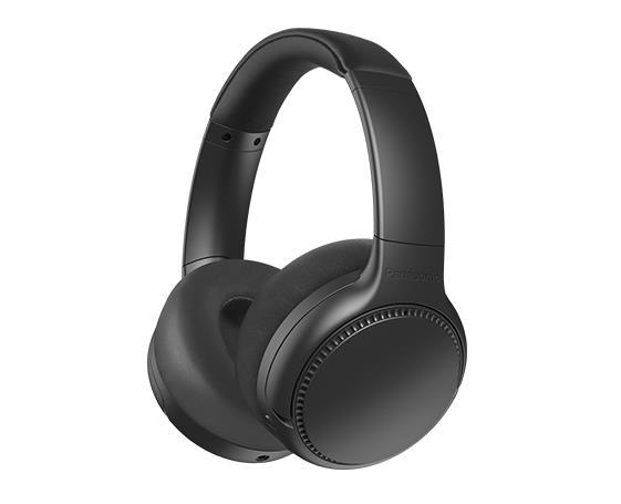 Panasonic Deep Bass Wireless Headphones RB-M700BE-K Over-ear, Microphone, Noice canceling, Black