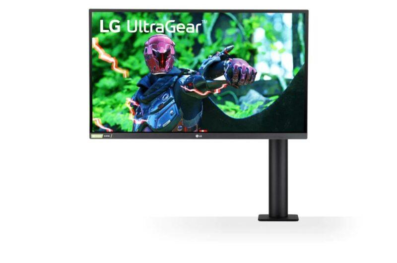 LCD Monitor LG 27GN880-B 27″ Panel IPS 2560×1440 16:9 144Hz Matte 1 ms Swivel Pivot Height adjustable Tilt 27GN880-B