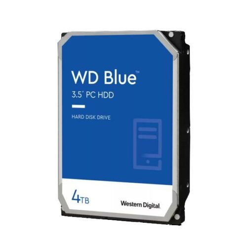"Western Digital WD Mėlyna 4 TB, hard drive (SATA 6 Gb / s, 3.5 "", WD Mėlyna)"