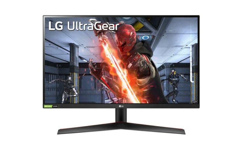 LCD Monitor LG 27GN800-B 27″ Gaming Panel IPS 2560×1440 16:9 144Hz Matte 1 ms Tilt 27GN800-B