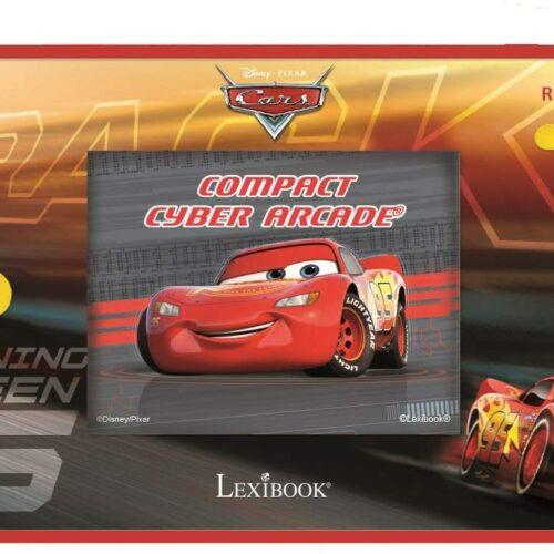 Lexibook – Handheld console Compact Cyber Arcade Disney Cars