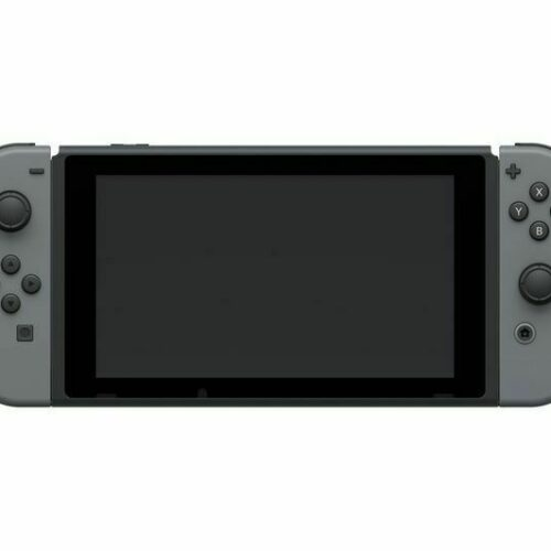 Nintendo Switch with Gray Joy-Con – Updated Version