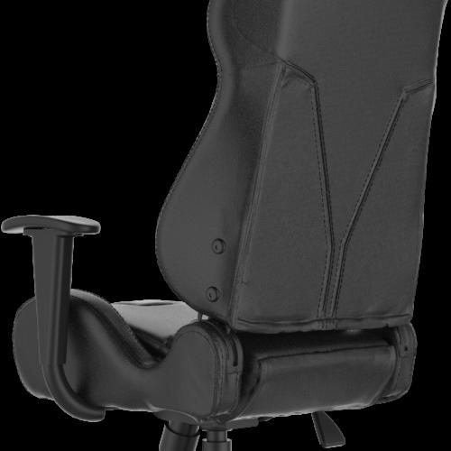 Gamdias Gaming Chair Achilles E2-L B, Black. Adjustable backrest, handlebars.  Gamdias
