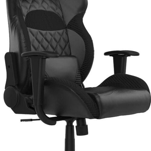 Gamdias Gaming chair, ZELUS E1 L B, Black