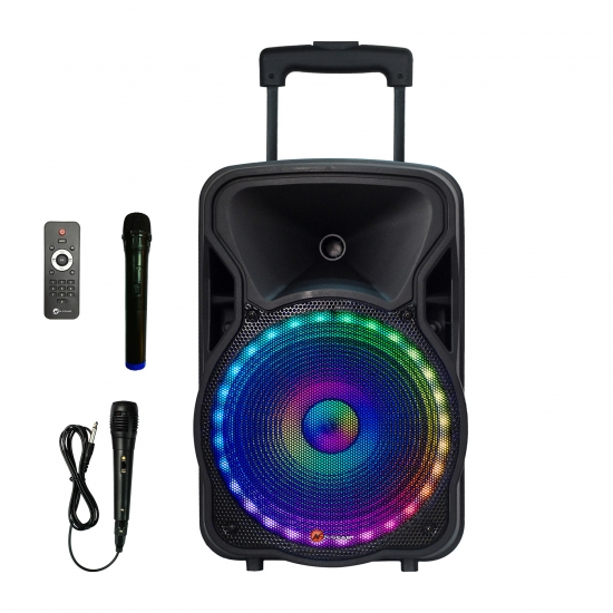 N-Gear Portable Speaker The Flash 1205 300 W, Portable, Wireless connection, Black, Bluetooth
