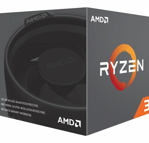 AMD Ryzen 3 1200, 3.1 GHz, AM4, Processor threads  4, Packing Retail, Processor cores  4, Component for PC