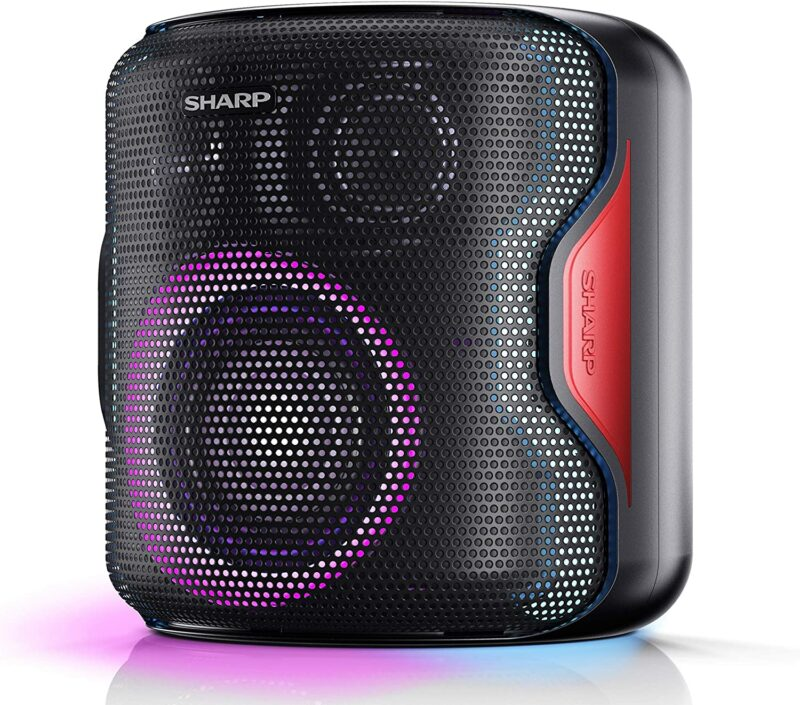 Sharp PS-919 Party Speaker 130 W, Bluetooth, Black, With Built-in Battery, TWS, USB, LED, IPX5, 14 h