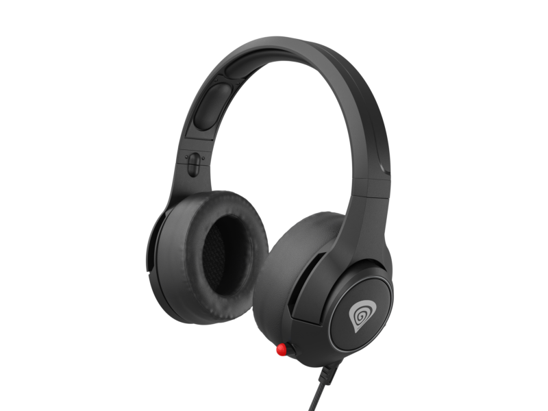 Genesis Built-in microphone, Black, Gaming Headset, Argon 600