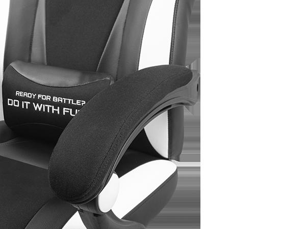 Genesis Gaming Chair Fury Avenger M+ Black/White