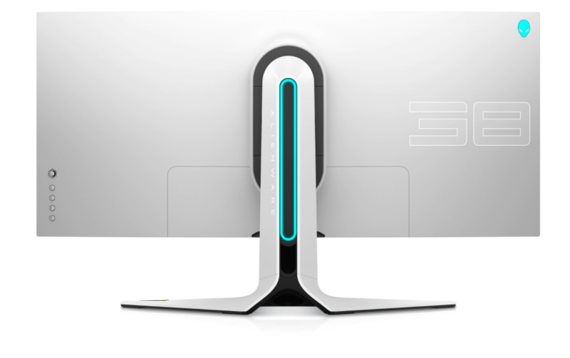 """Dell Alienware Curved Gaming Monitor AW3821DW 38 """", IPS, WQHD+, 1 ms, 450 cd/m², Silver"""