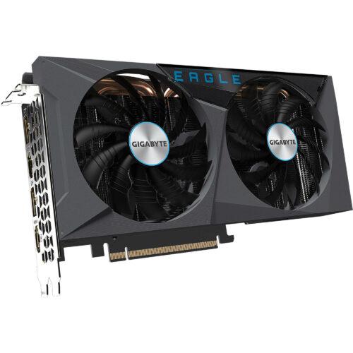 Gigabyte GV-N3060EAGLE-12GD NVIDIA, 12 GB, GeForce RTX 3060, GDDR6, PCI-E 4.0 x 16, HDMI ports quantity 2, Memory clock speed 15000 MHz, Processor frequency 1777 MHz