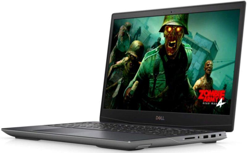 """Dell G5 15 5505 AG Silver, 15.6 """", WVA, Full HD, 120 Hz, 1920 x 1080, Anti Glare, AMD Ryzen, 5 4600H, 8 GB, DDR4, SSD 512 GB, AMD Radeon RX 5600M, GDDR6, 6 GB, No Optical drive, Windows 10 Home, 802.11ax, Bluetooth version 4.2, Keyboard language English, Keyboard backlit, Warranty 36 month(s)"""
