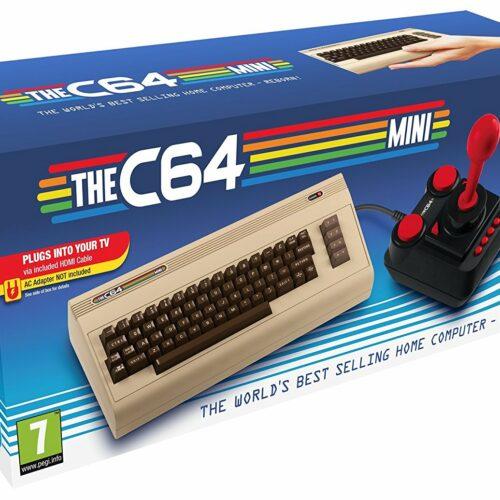 Commodore C64 Mini Retro Console incl. 64 Games