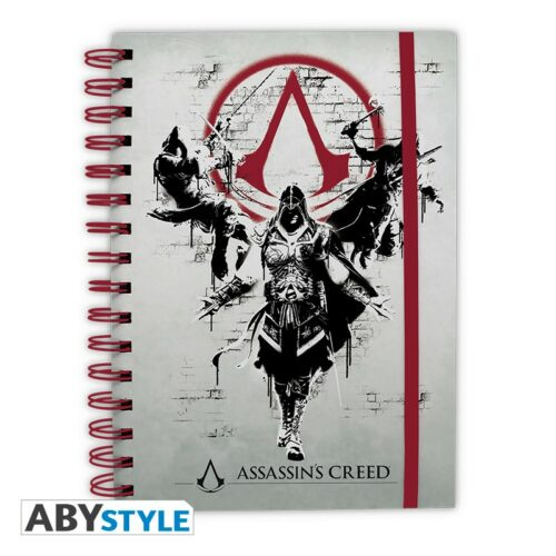 Notebook Assassin's Creed – Legacy, Wired A5