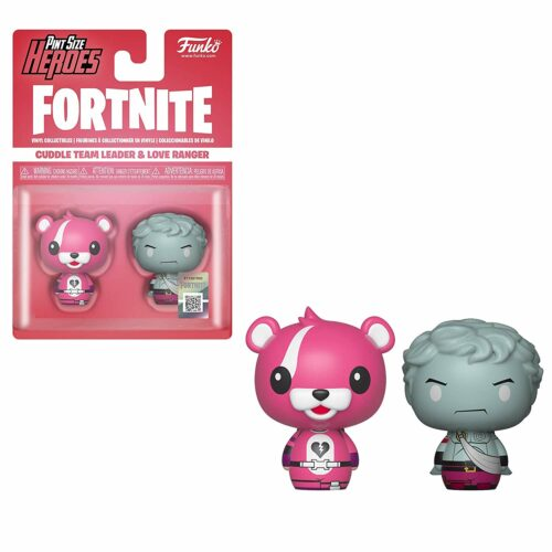 Pint Size Heroes: Fortnite – Cuddle Team Leader and Love Ranger Vinyl Collectibles