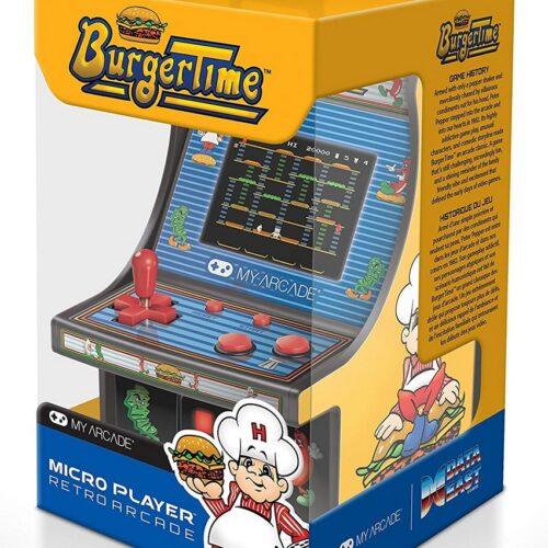 My Arcade – Burger Time Micro Player Retro Arcade