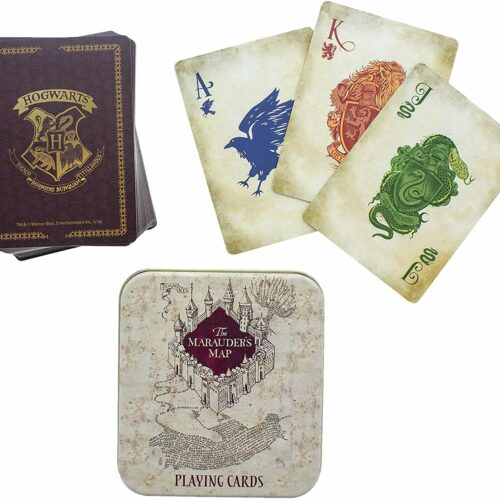Playing Cards in Metal Case: Harry Potter – Marauder's Map