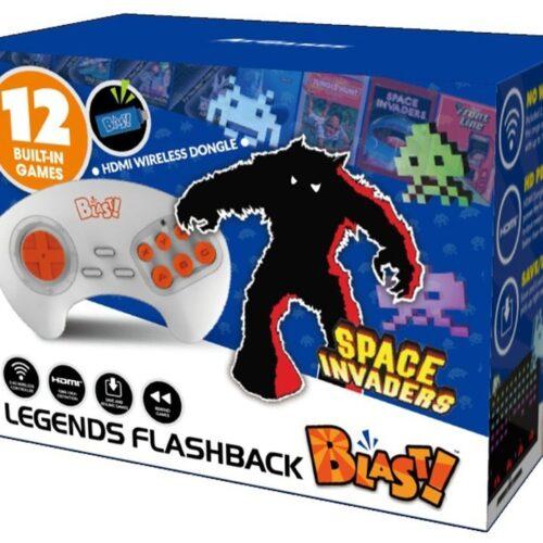 Legends Flashback Blast! – TV Wireless HD Joystick incl. Space Invaders