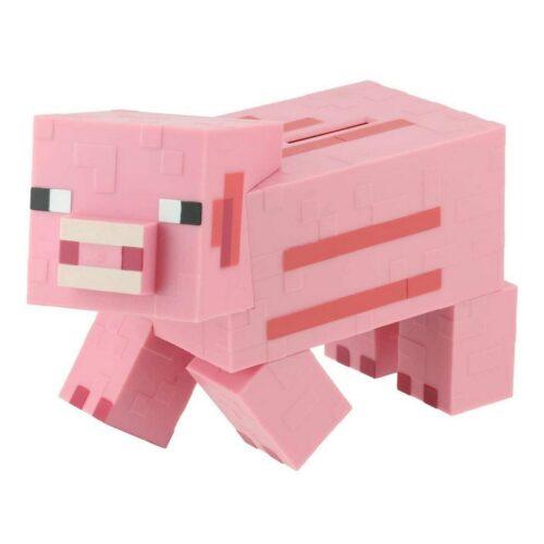Minecraft – Pig Money Bank, 18cm
