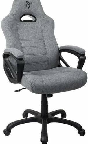 Arozzi Gaming Chair Enzo Woven Fabric Grey
