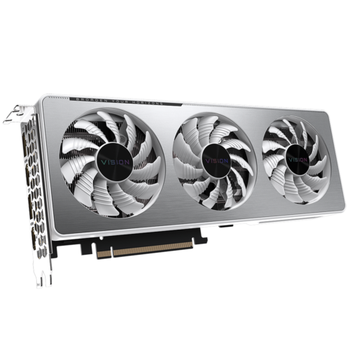 Gigabyte GV-N3060VISION OC-12GD, LHR version NVIDIA, 12 GB, GeForce RTX 3060, GDDR6, PCI-E 4.0 x 16, Processor frequency 1837 MHz, HDMI ports quantity 2, Memory clock speed 15000 MHz