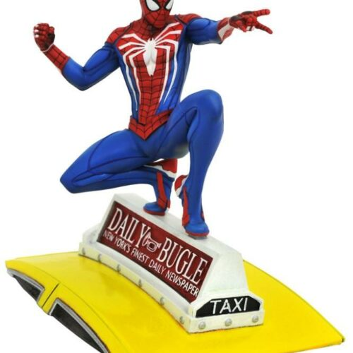 Diamond Select Toys Gallery Marvel: PS4 Game Spider-Man on Taxi PVC Statue