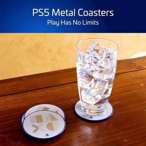 Paladone Playstation – Metal Coasters PS5