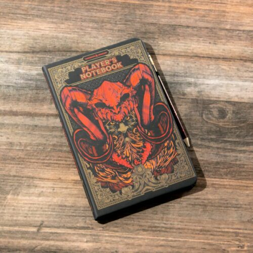Dungeons and Dragons (D&D) – Player's Notebook with Pencil, 215x135mm
