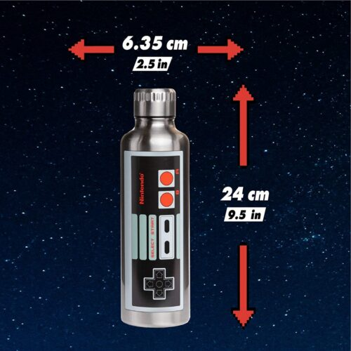 Nintendo – NES Metal Water Bottle, 500ml