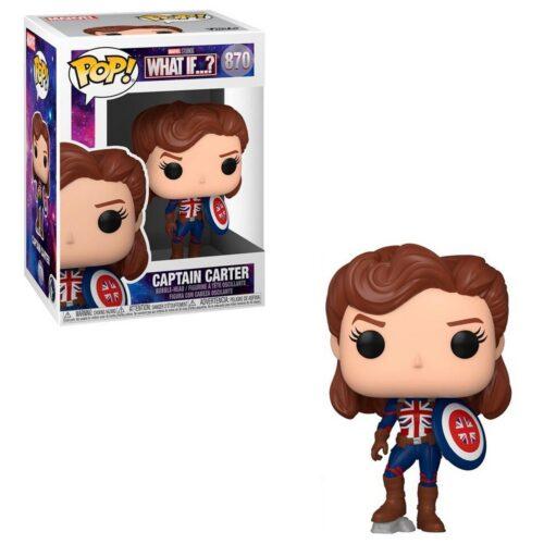 POP! Marvel What If…? – Captain Carter Vinyl Bobble-Head