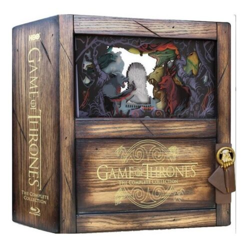BLU-RAY Game of Thrones: Complete Seasons 1-8 Collectors Edition Box