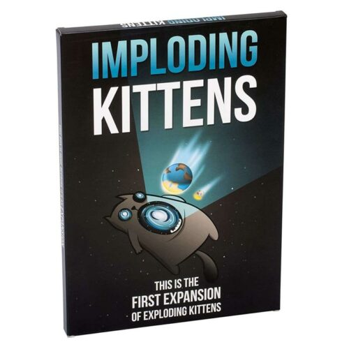 Imploding Kittens – Expansion of Exploding Kittens Card Game (English)