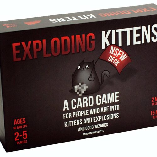 Exploding Kittens – NSWF Edition Card Game (English)