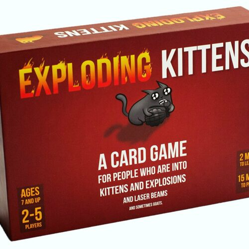 Exploding Kittens – Original Edition Card Game (English)