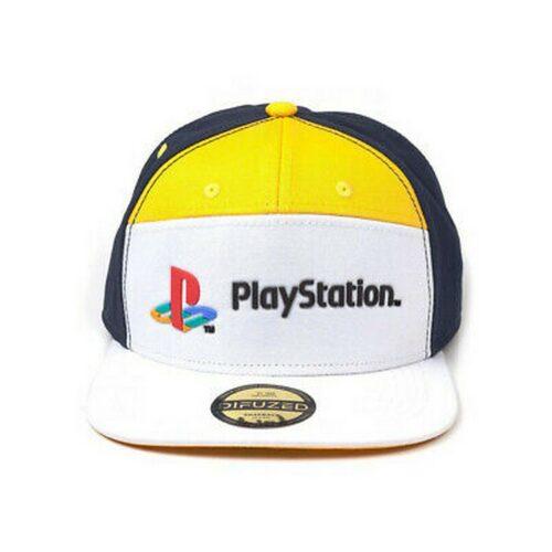 Difuzed PlayStation – 7 Panels Snapback Cap