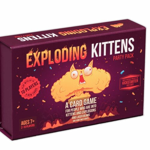 Exploding Kittens – Party Pack Card Game (English)