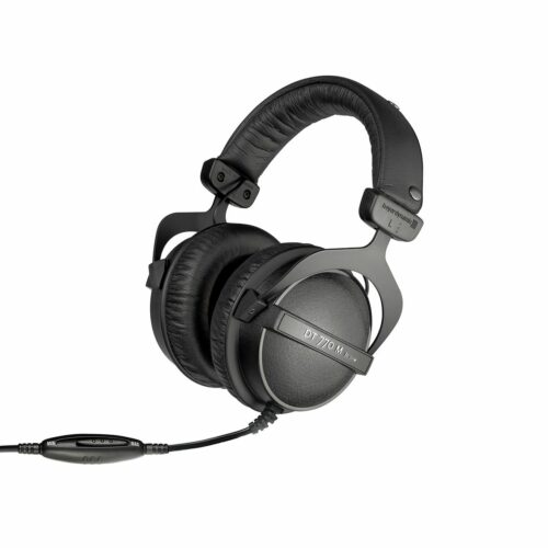 Private: Beyerdynamic Monitoring headphones for drummers and FOH-Engineers DT 770 M Headband/On-Ear, 3.5 mm and adapter 6.35 mm, Black, Noice canceling,