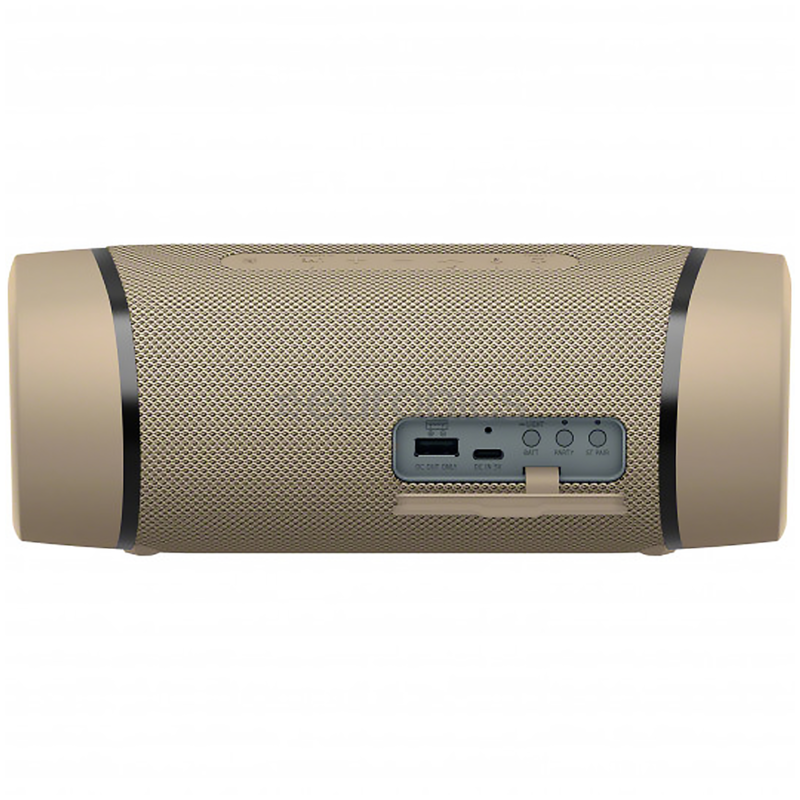 Sony Portable Bluetooth Party Speaker SRS-XB33 Extra Bass Waterproof, Cream