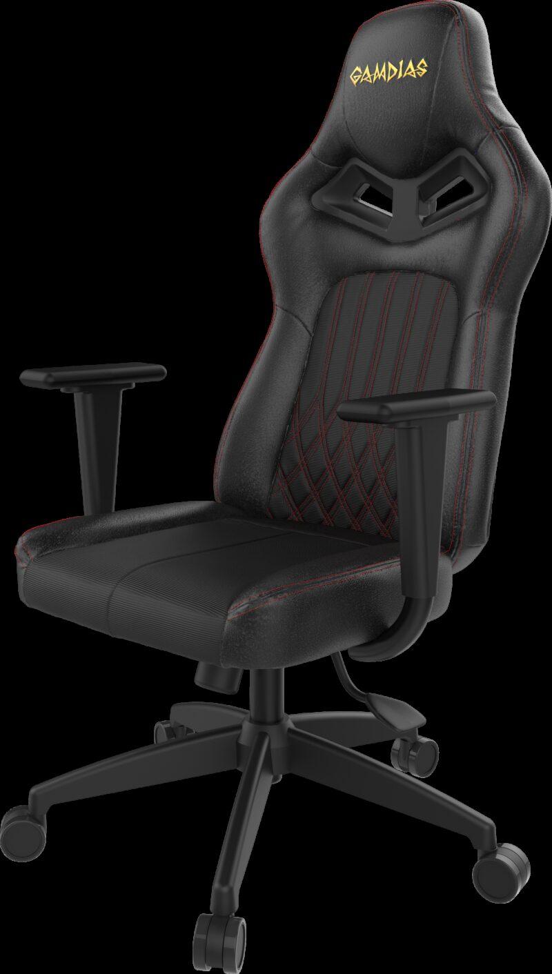 Private: Gamdias Gaming Chair,  Achilles E3 L, Black/Red
