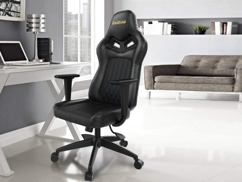 Private: Gamdias Gaming Chair, ACHILLES E3 L, Black/Blue